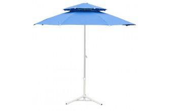 Parasol de jardin bleu