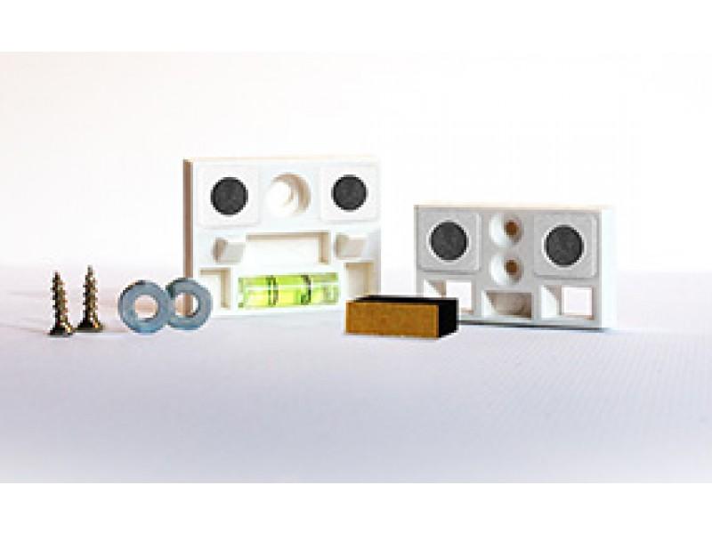 fixation cadre vissable. Black Bedroom Furniture Sets. Home Design Ideas