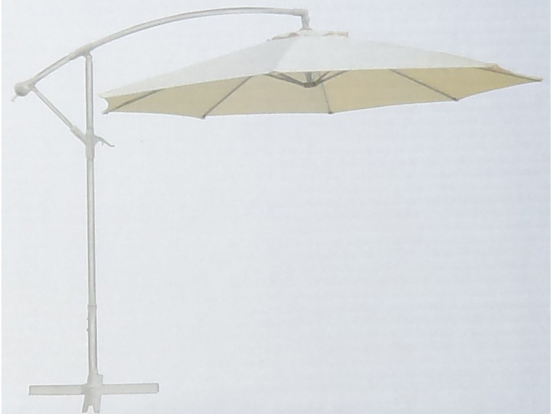 parasol d port diam tre 300 cm couleur ecru. Black Bedroom Furniture Sets. Home Design Ideas