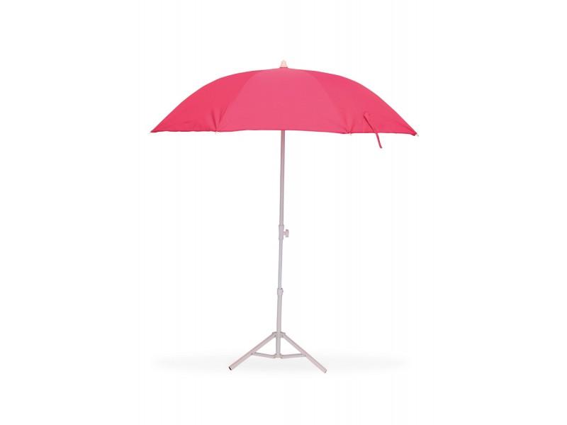 parasol de plage t lescopique anti uv diam tre 160 cm fushia. Black Bedroom Furniture Sets. Home Design Ideas