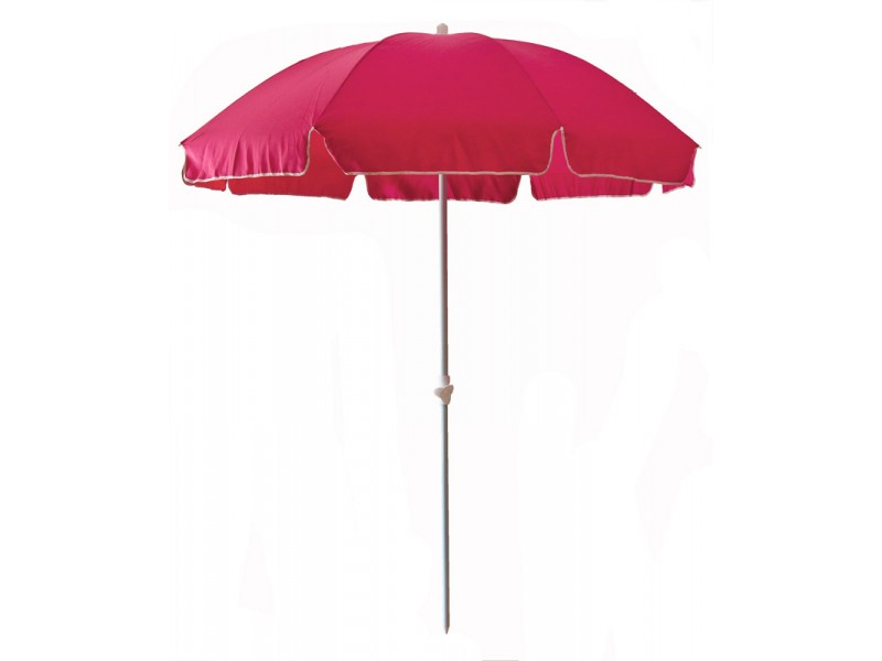 parasol de plage anti uv et s curis rose. Black Bedroom Furniture Sets. Home Design Ideas